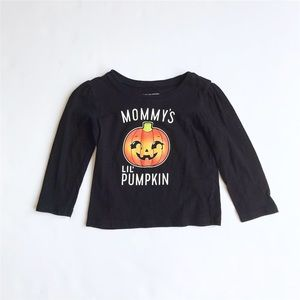 The children's place mommy's pumpkin top EUC 18-24